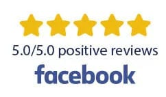 5 star review Facebook